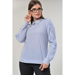 MALI 626 Блуза (полоска)