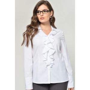 MALI 627 Блуза (белый)