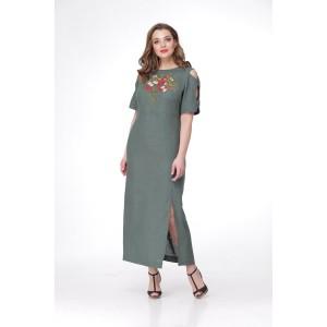 MALI 467 BM Платье (малахит)