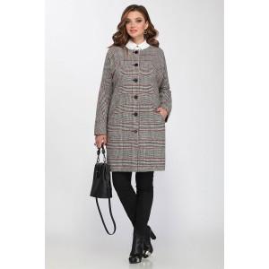 MATINI 21216 Пальто (серый/бордо)