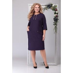 MICHEL-CHIC 2037 Платье (темно-фиолетовый)