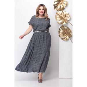 MICHEL-CHIC 664 Платье (темный графит)