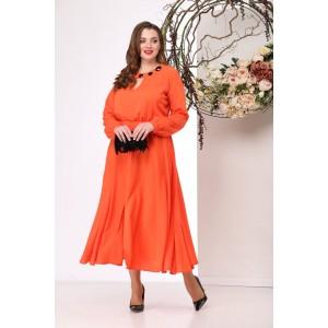 MICHEL-CHIC 958-1 Платье (оранжевый)