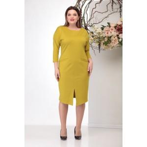 MICHEL-CHIC 983 Платье (горчица)