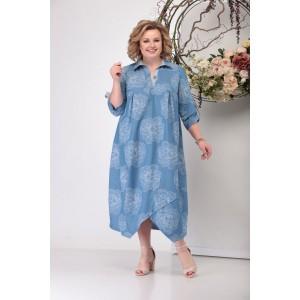 MICHEL-CHIC 986 Платье (голубой деним)
