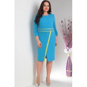 MILANA 109 Платье (голубой)