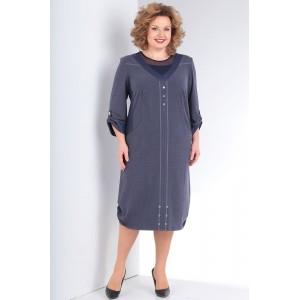 MILANA 150 Платье (Сине-серый)