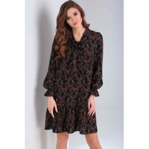 MILANA 198-1 Платье (чёрный)