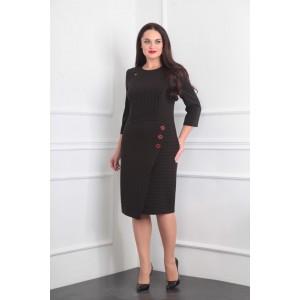 MILANA 869 Платье темный шоколад