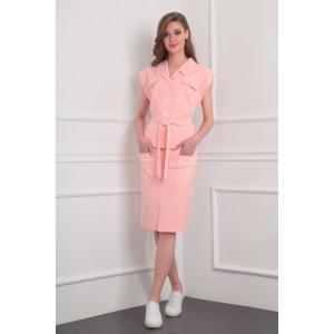 MILANA 930 Костюм юбочный (розовый)