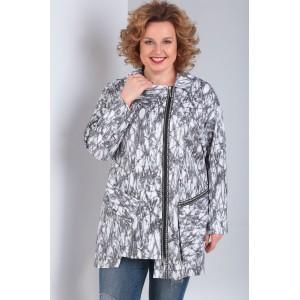 MILANA 950 Куртка (белый-серый )