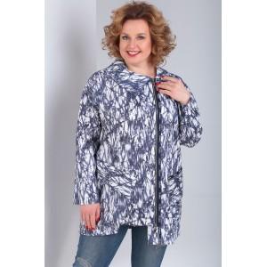 MILANA 950-1 Куртка (белый-синий)