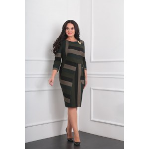MILANA 964 Платье (хаки)