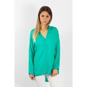 MIROLIA 531 Блуза (бирюза)