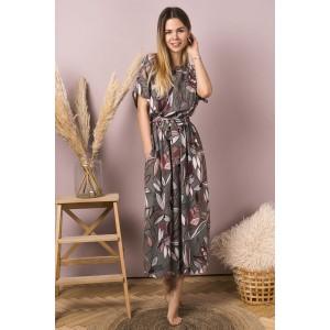 MIROLIA 731 Платье (хаки)