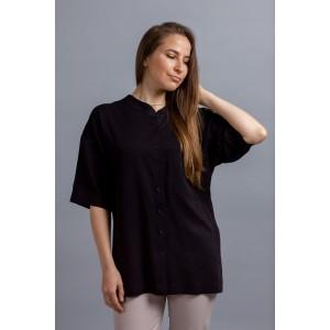 MIROLIA 907 Рубашка (черный)