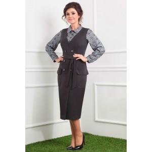 MODA-URS 2304 Сарафан с блузкой