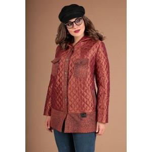 MODA-URS 2381 Куртка (рыжий + отделка черная)