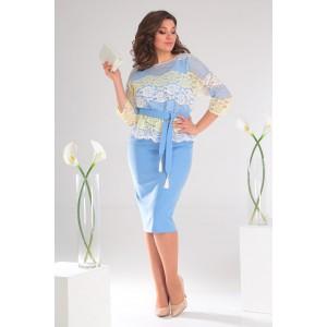 MODA-URS 2453 Платье с блузкой