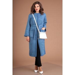 MODA-URS 2498-1 Пальто (голубой)