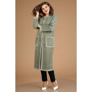 MODA-URS 2498-1 Пальто (хаки)