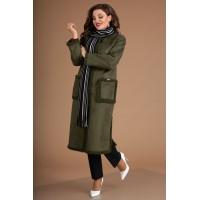 MODA-URS 2498-1 Пальто (зеленый)