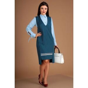 MODA-URS 2503 Сарафан с блузкой