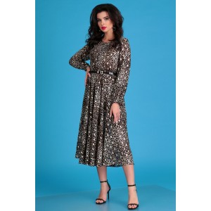 MODA-URS 2547 Платье (леопард)