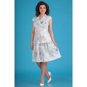 MODA-URS 2555 Платье (нежно-мятный)