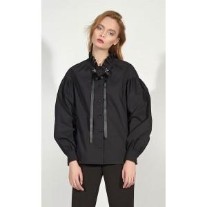 MOTIF 1090 Блуза (черный)