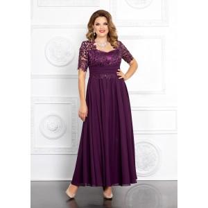 MIRA-FASHION 4146 Платье (гипюр рукав)