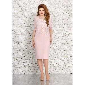 MIRA-FASHION 4472 Платье с блузкой