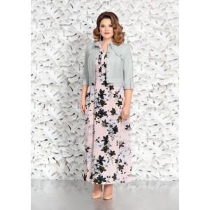MIRA-FASHION 4601-2 Платье с курткой