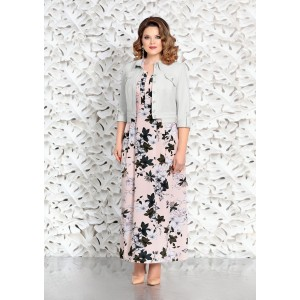 MIRA-FASHION 4601-3 Платье с курткой