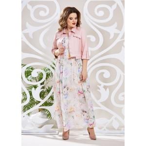 MIRA-FASHION 4601-4 Платье с курткой