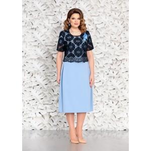 MIRA-FASHION 4605 Платье с блузкой