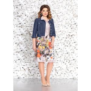 MIRA-FASHION 4640 Платье с курткой