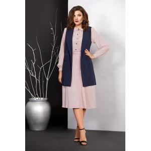 Mubliz 405 Платье с жилетом