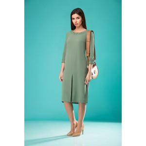 NADIN-N 1760 Платье (оттенки зелени)