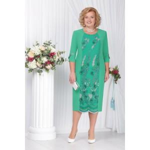 NINELE 2115 Платье (зеленый)