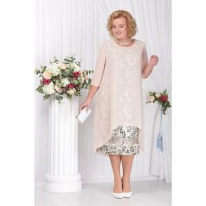 NINELE 2120 Платье (пудра)