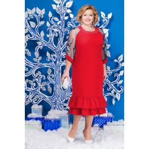 NINELE 2126 Платье (красный)