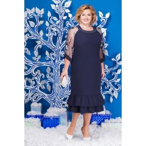 NINELE 2126 Платье (синий)
