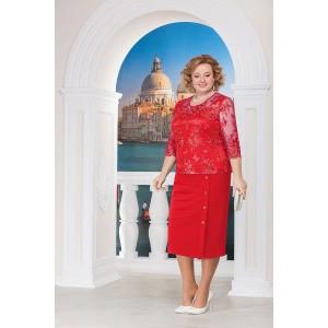 NINELE 2138 Платье (красный)