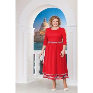 NINELE 2140 Платье (красный)