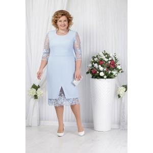 NINELE 2145 Платье (голубой)