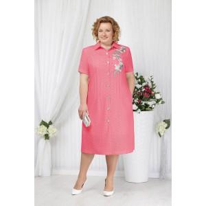 NINELE 2154 Платье (малина)