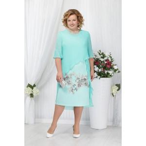 NINELE 2159 Платье (светло-зеленый)