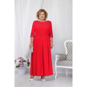 NINELE 2161 Платье (красный)