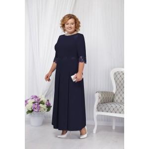 NINELE 2161 Платье (синий)